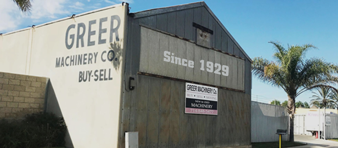 Greer Machinery - Since 1929